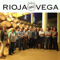 October 2016: Rioja Vega Promotion Winners Visit to Winery