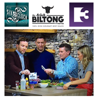 February 2017: Irish Biltong is the Star of the Show on TV3's Six O'Clock Show