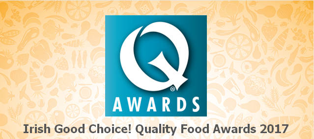 August 2017: Irish Biltong shortlisted for Irish Good Choice! Quality Food Awards 2017