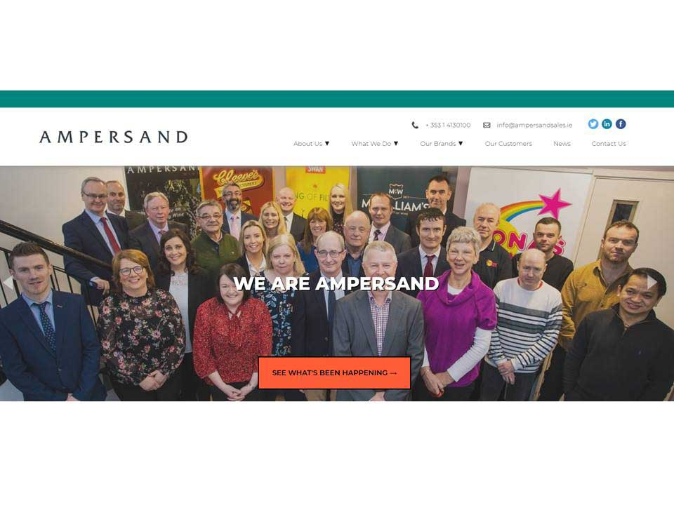 Apr 2020: Ampersand Launch New Look Website