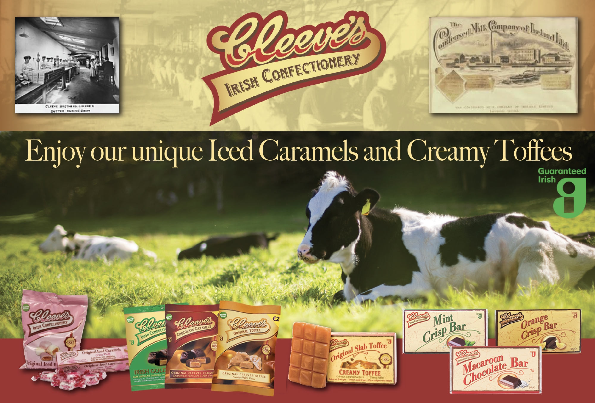 June 2020: Cleeve's; A Guaranteed Irish Brand