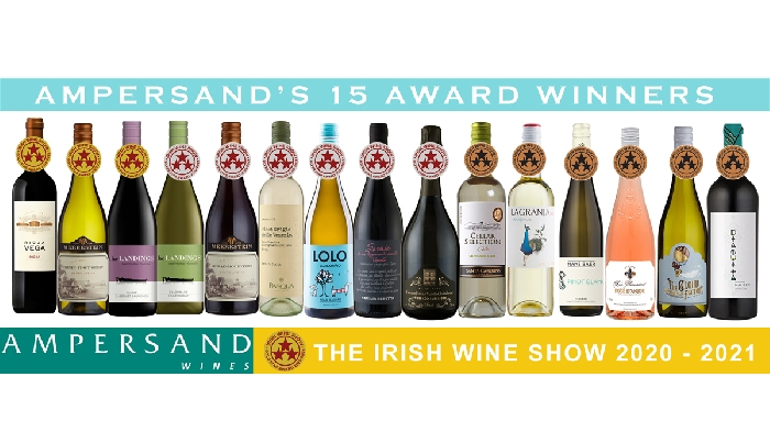Ampersand Win 15 Awards at the Irish Wine Show