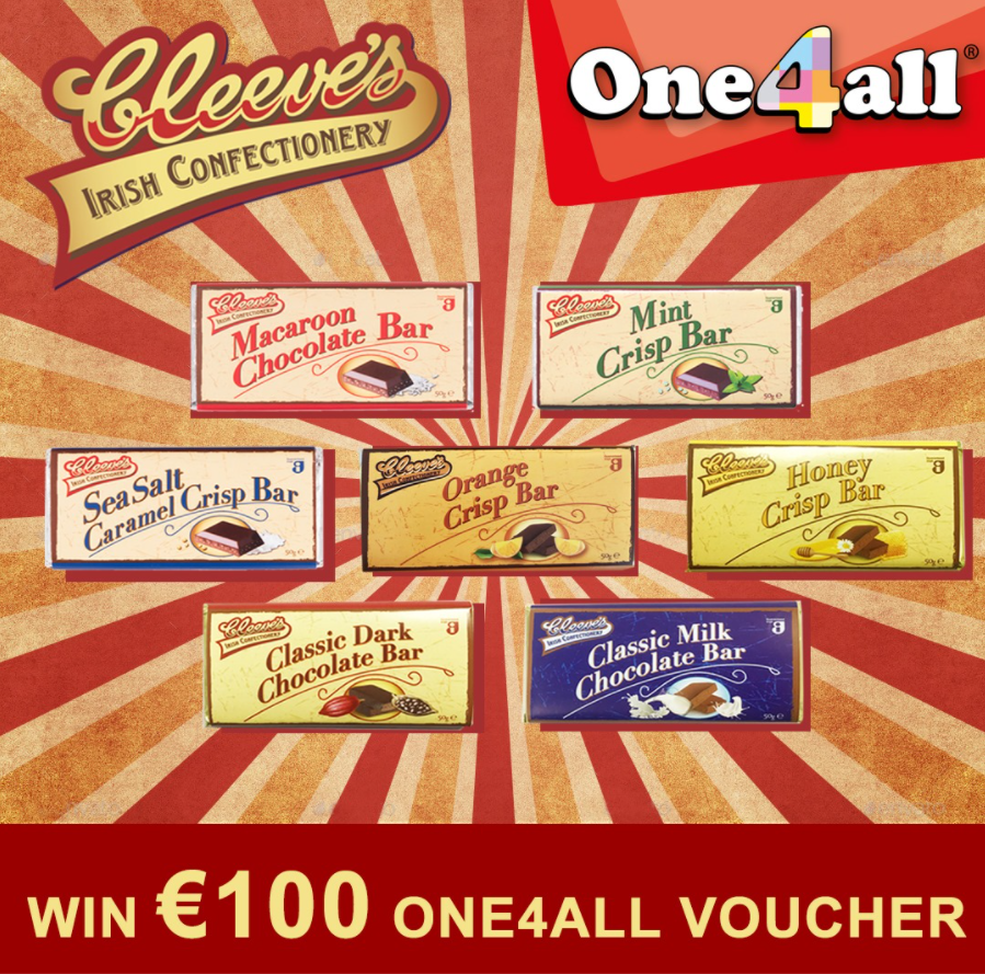 April 2021: Cleeve's Gives Gala Consumers Chance to Win €100 One4All Voucher