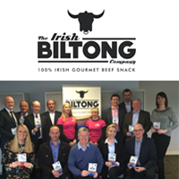 January 2017: Ampersand Official Distributor of The Irish Biltong Company Gourmet Beef Snacks
