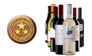 2013 - Ampersand wins 7 awards at the Irish Wine Show with 2 Gold Star Best of Category Awards