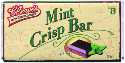August 2018: Cleeve's add new Mint Crisp Bar to the range