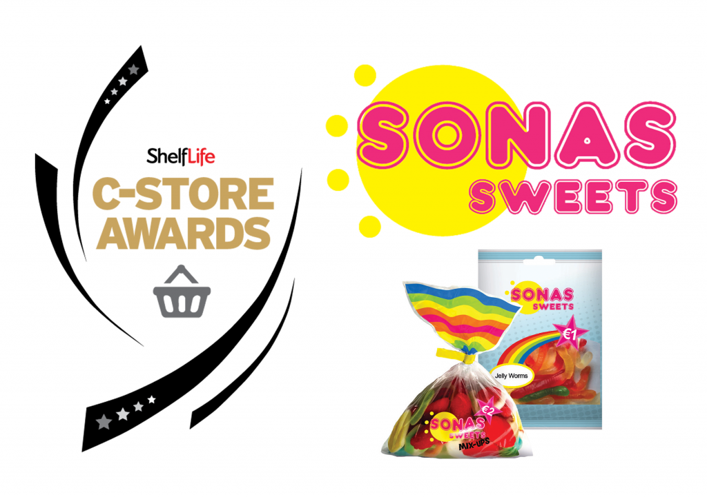 November 2018: Sonas Sweets Nominated for C-Store Best New Product of the Year 2018