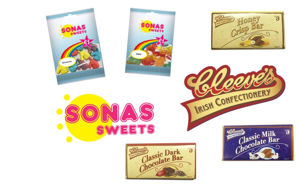 May 2019: New Additions to Sonas Sweets & Cleeve's Range