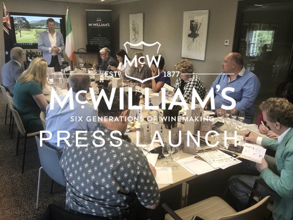 July 2019: McWilliam's & Mount Pleasant Press Launch