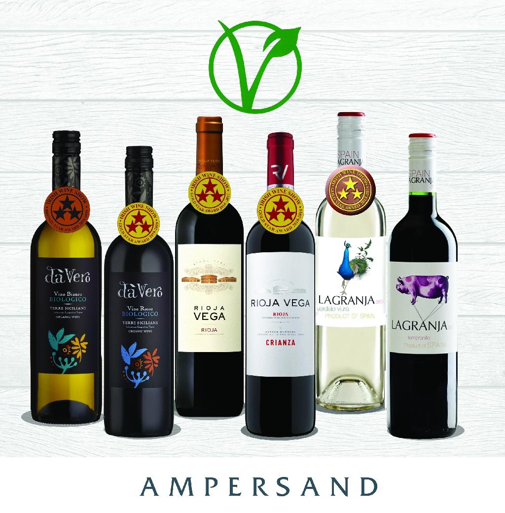 Ampersand's Award Winning Vegan Selection of Wines