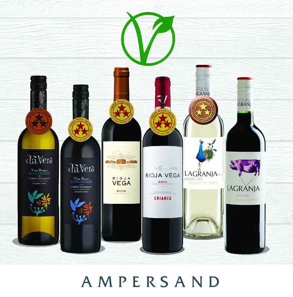 Ampersand's Award Winning Vegan Selection of Wines