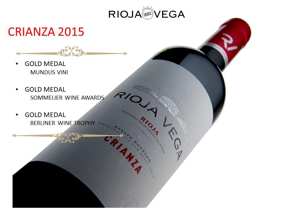 Media Library - Rioja Vega Crianza global medals