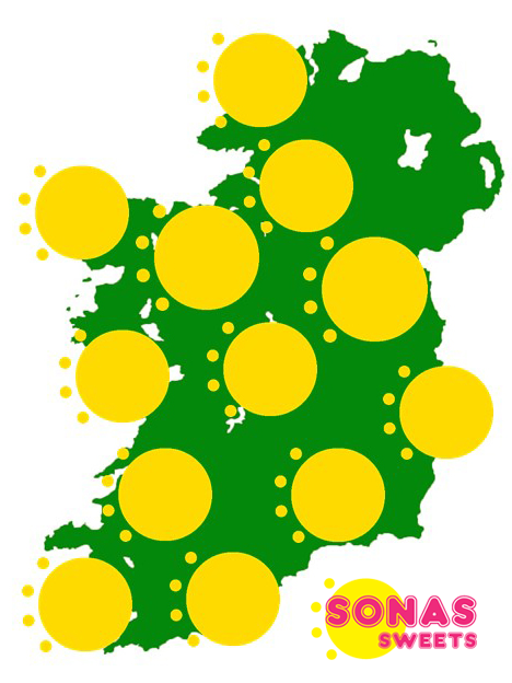 Media Library - sonas sweets map ireland