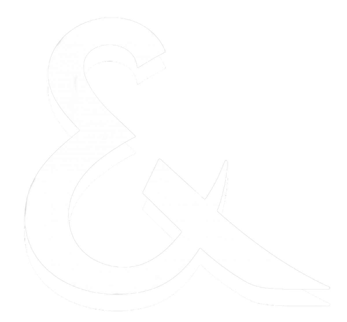 Media Library - AMPERSAND SYMBOL WHITE